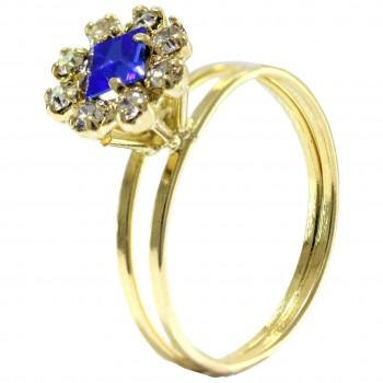 Anéis de Formatura Folheado a Ouro