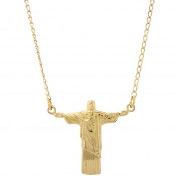Gargantilha Cristo Redentor GT12