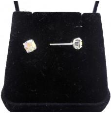 Brinco Com Pedra de Cristal Boreal AP466