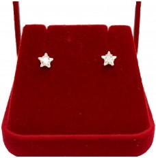 Brinco estrela de Zircônia